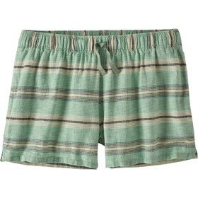 Patagonia Island Hemp Baggies Shorts Dames, tarkine stripe small/ellwood green